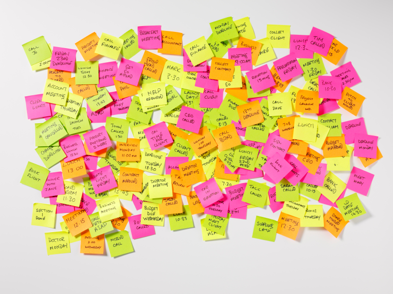Could post-it notes improve productivity?